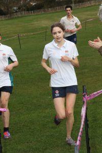 Barnard Run first girl